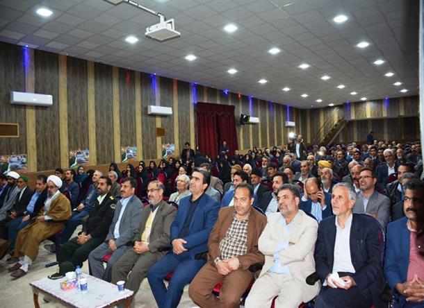 برگزاري نوزدهمين جشنواره خيرين مدرسه سازشهرستان سرايان